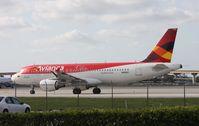 N416AV @ FLL - Avianca A320