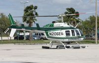 N206EV - Evergreen Bell 206 at Heliexpo Orlando