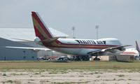N716CK @ OSC - Kalitta 747-100