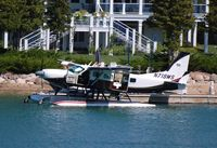 N719MS - Cessna 208 on Lake Charlevoix