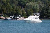 N719MS - C208 on Lake Charlevoix