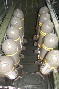 N93012 @ YIP - Nine O  bomb bay