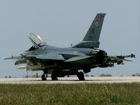92-3910 @ LMML - F16 92-3910 USAF - by raymond