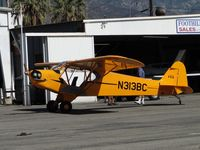 N313BC @ CCB - Parked outside Foothill Sales & Service hanger - by Helicopterfriend