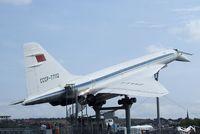 CCCP-77112 - Tupolev Tu-144 CHARGER at the Auto & Technik Museum, Sinsheim - by Ingo Warnecke
