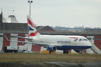 G-LCYH @ EGLC - British Airways Embraer ERJ-170STD - by David Burrell