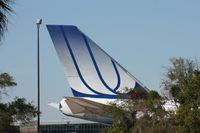N171UA @ TPA - United 747 tail at Pemco