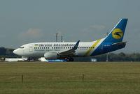 UR-GAK @ LOWW - Ukraine International Boeing 737 - by Thomas Ranner