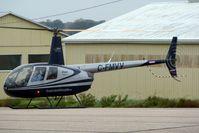 C-FMVV @ CYKF - 2001 Robinson R44, c/n: 0985 - by Terry Fletcher