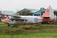 WP314 @ EGNC - WP314 (CU-573), Percival P.57 Sea Prince T.1, c/n: P57/64 at Carlisle