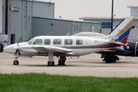 C-GTJF @ CYKF - 1979 Piper PA-31-350, c/n: 31-7952170
