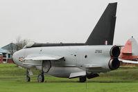 ZF583 @ EGNC - English Electric Lightning F.53, c/n: 95826 at Carlisle