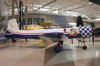 C-GCWN @ CYHM - 1989 Nanchang CJ6A, c/n: 47-22 At Canadian Warplane Heritage Museum - by Terry Fletcher