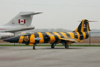 104790 @ CYHM - Canadair CF-104 Starfighter, c/n: 683A-1090 at Canadian Warplane Heritage Museum - by Terry Fletcher