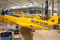 C-FBXK @ CYHM - 1956 De Havilland DHC-1B-2-S5, c/n: 179-217 at Canadian Warplane Heritage Museum - by Terry Fletcher