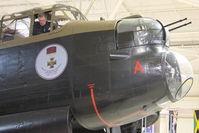 C-GVRA @ CYHM - 1945 Victory Aircraft Avro 683 Lancaster B10, c/n: FM 213 at Canadian Warplane Aviation Museum