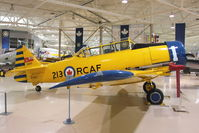 CF-UUU @ CYHM - 1951 Canadian Car & Foundry Harvard 4, c/n: CCF4-4 at Canadian Warplane Heritage Museum - by Terry Fletcher