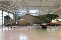 C-GDAK @ CYHM - Douglas DC3-G202A, c/n: 2141 at Canadian Warplane Heritage Museum