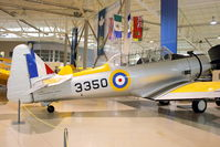 CF-CWZ @ CYHM - 1939 North American NA-64 Yale, c/n: 64-2206 at Canadian Warbird Heritage Museum - by Terry Fletcher
