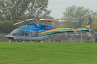 C-FLRH - 1996 Bell 407, c/n: 53010 at Niagara Helicopters base near the Falls - by Terry Fletcher