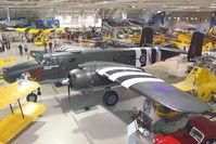 C-GCWM @ CYHM - 1945 North American B-25J Mitchell, c/n: 108-47734 ex USAF 45-8883 at Canadian Warplane Heritage Museum