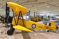 C-FFUI @ CYHM - 1943 Fleet 16B, c/n: 623 at Canadian Warplane Heritage Museum - by Terry Fletcher