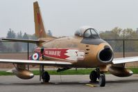 23651 @ CYHM - Canadair CL-13B Sabre 6, c/n: 1441 at Canadian Warplane Heritage Museum - by Terry Fletcher