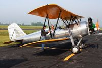 N26476 @ KDLZ - At the EAA fly-in, Delaware, Ohio - by Bob Simmermon
