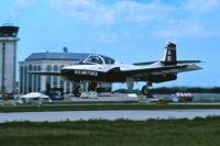 60-0121 @ KDPA - Departing Runway 19R. 35mm slide.  200ASA accidentally to expose at 400ASA - by Glenn E. Chatfield