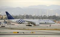 B-2056 @ KLAX - Taxiing at LAX - by Todd Royer
