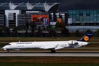 D-ACKJ @ EDDM - Arrival on runway 26L..... - by Holger Zengler