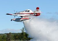 N8512L @ 52B - Water Drop over Moosehead Lake ME - by J.G. Handelman