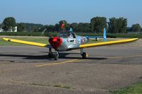 N415F @ KVTA - Arriving at the EAA fly-in - Newark, Ohio - by Bob Simmermon