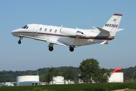 N693QS @ KVTA - Departing Newark, Ohio - by Bob Simmermon