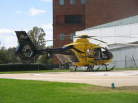N385PH @ 8VA5 - UVA Hospital - by Ronald Barker