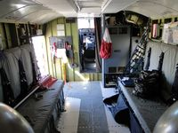 C-GQBG @ VNY - Interior showing work area's and places to put stretchers when making sea or ocean rescues - by Helicopterfriend