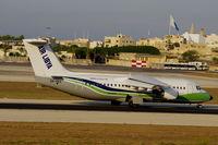 5A-DKQ @ LMML - Bae146 5A-DKQ Air Libya 24-9-11 - by raymond