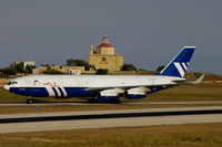 RA-96013 @ LMML - IL-96 RA-96013 Polet Flight - by raymond