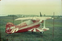 C-FNBS - my grand father leo veilleux. story sais he built this kit plane. picture taken at is personal airport compton quebec - by old veilleux diapo by patrick veilleux