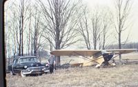 C-FBRV - picture taken in compton, quebec, canada un the early 60's. my grand father was the co-owner back then - by old veilleux diapo by patrick veilleux