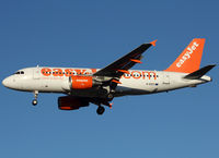 G-EZIT @ LFBO - Landing rwy 32L - by Shunn311