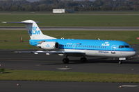 PH-KZH @ EDDL - KLM Cityhopper, Fokker F70, CN: 11583/0340 - by Air-Micha