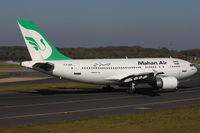 F-OJHH @ EDDL - Mahan Air, Airbus A310-304 (ET), CN: 0586 - by Air-Micha