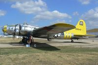 N3701G @ FTW - B-17 Chuckie with her new chin and ball turret - At Meacham Field - Fort Worth, TX - by Zane Adams