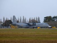 A7-MAK @ EGSC - One of three new Quatar C130 delivered through Cambridge - by Andy Parsons