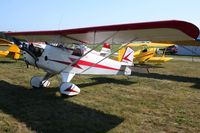 N40316 @ KVTA - At the EAA fly-in - Newark, Ohio - by Bob Simmermon