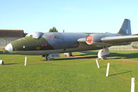 WH791 - At Newark Air Museum in the UK - pained as WH792