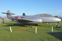 VZ634 - At Newark Air Museum in the UK