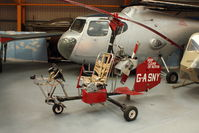 G-ASNY - At Newark Air Museum in the UK