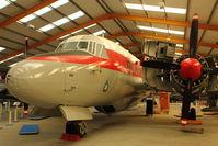 WF369 - At Newark Air Museum in the UK